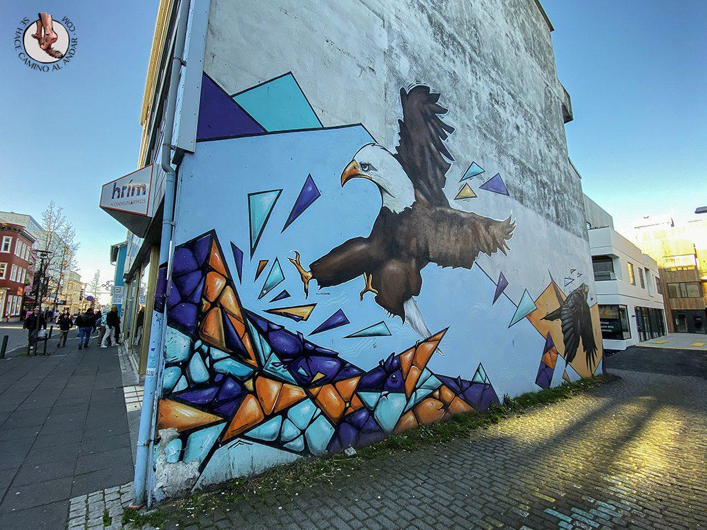 visitar reikiavik 1 dia mural