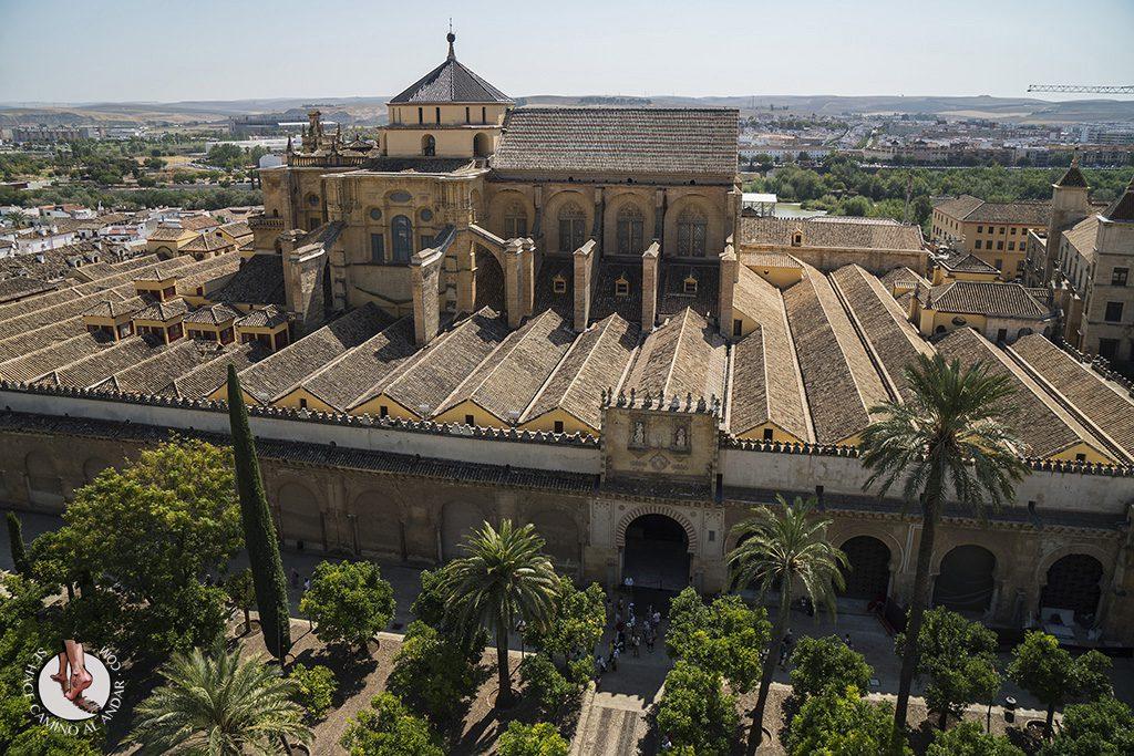 vistas desde torre de mezquita catedral Córdoba