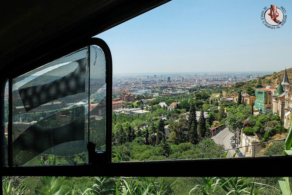 vistas funicular tibidabo