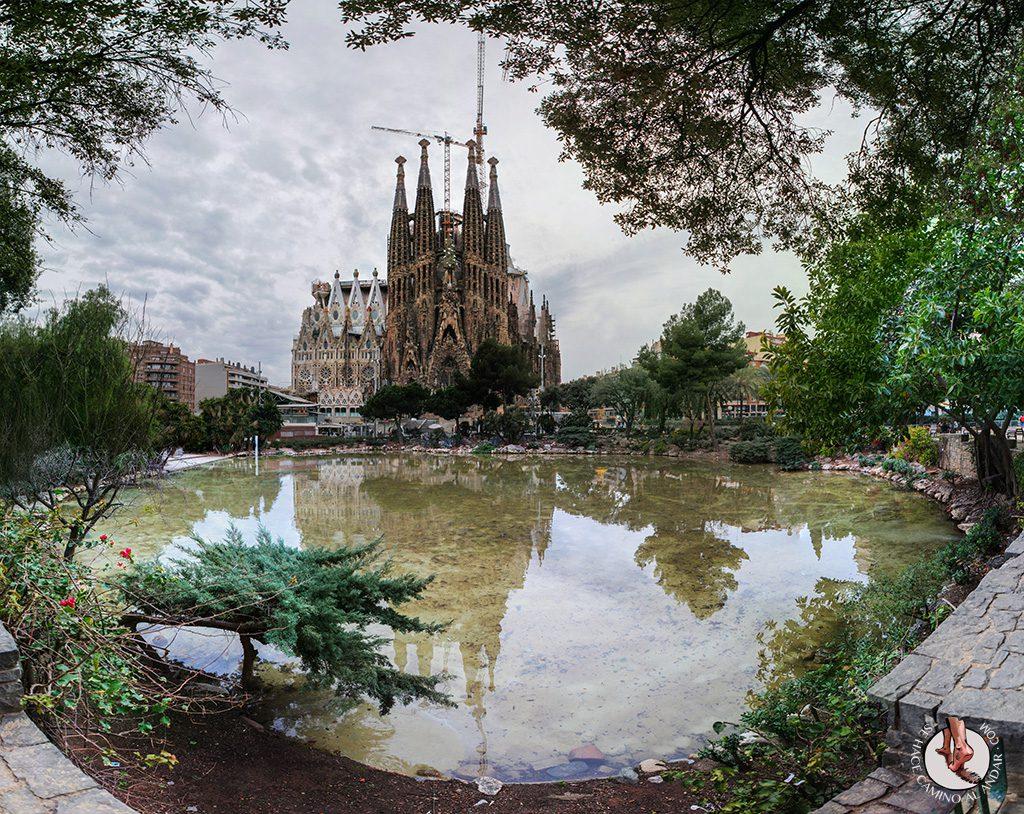 Vistas Sagrada Familia Barcelona
