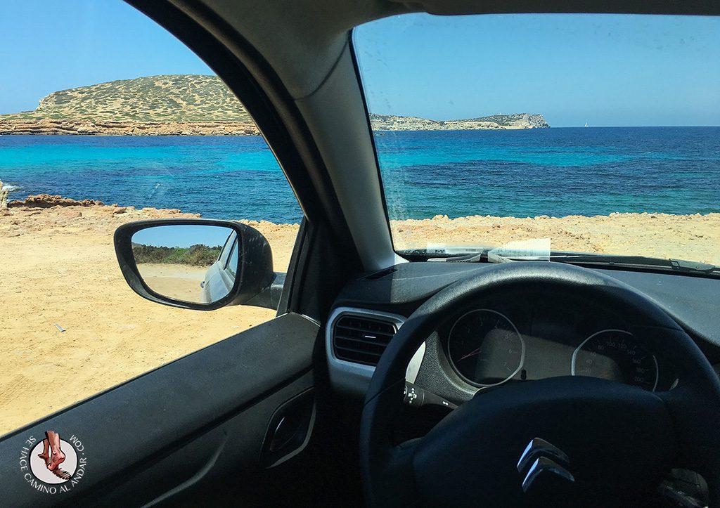 Alquilar coche Ibiza