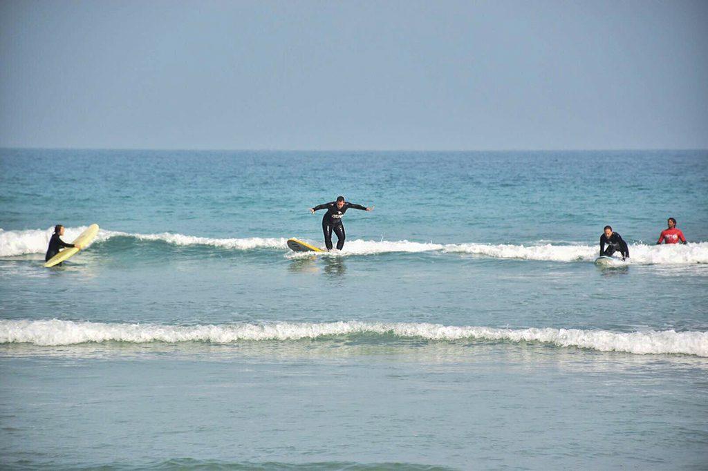 Art Surf Camp Subido tabla Surf