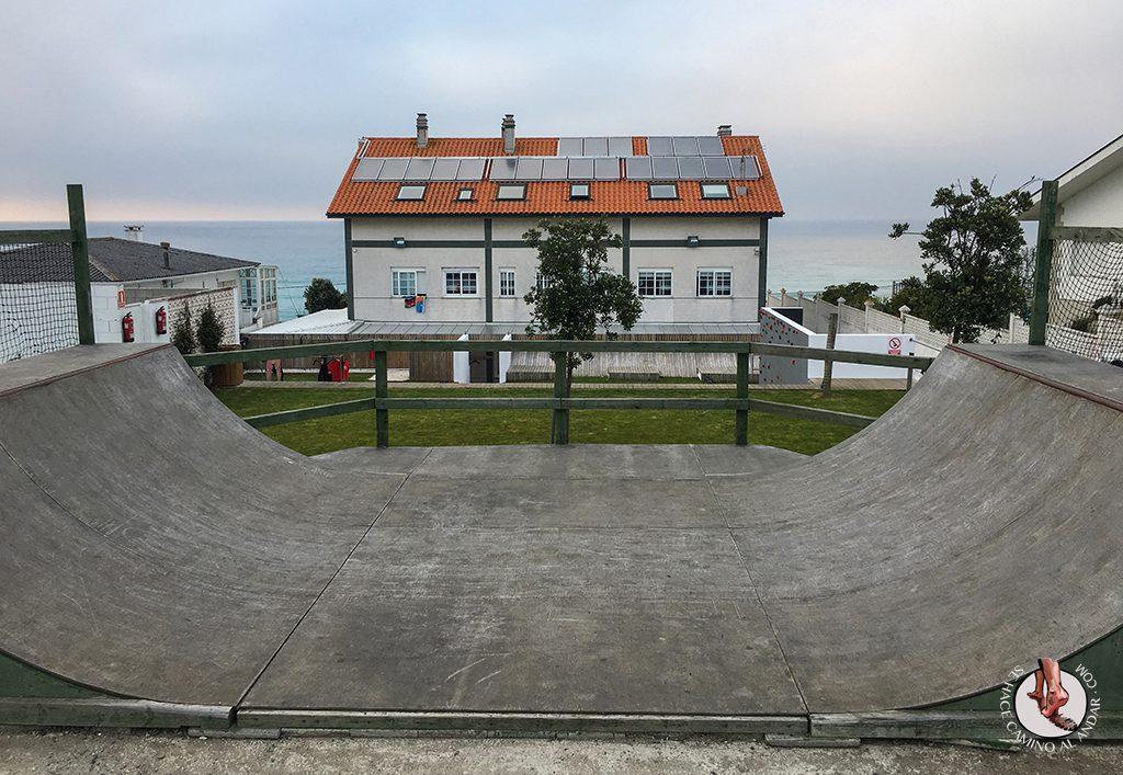 Art Surf Camp skate park