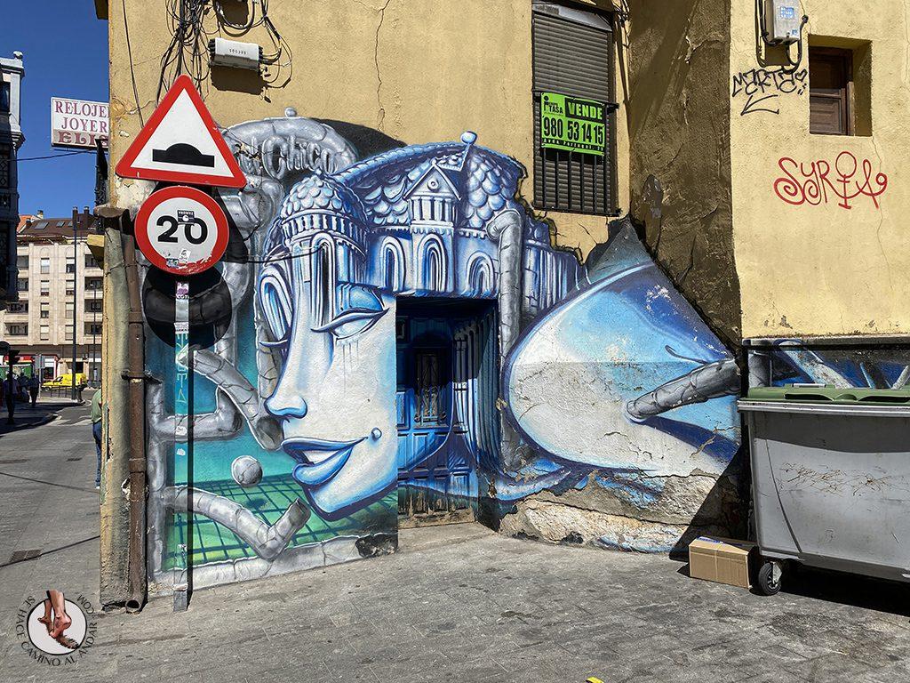Arte urbano Zamora graffiti cimborrio