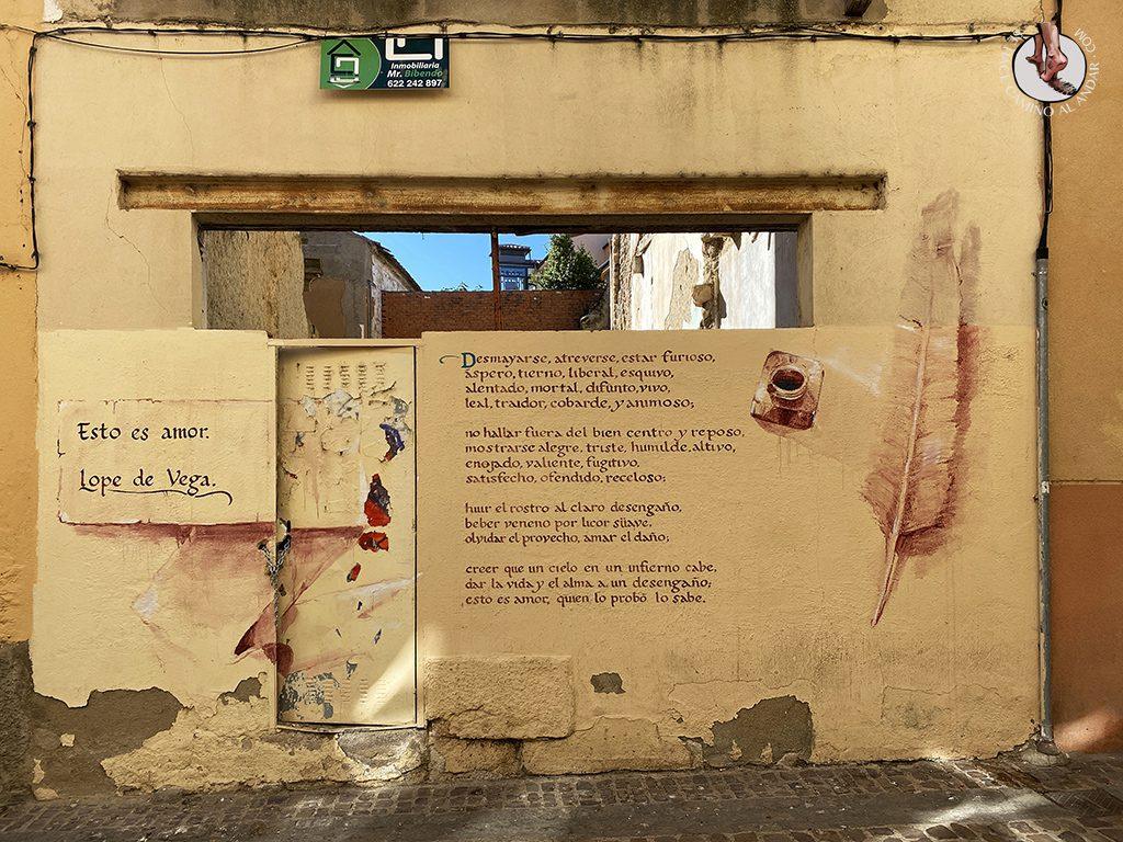 Arte urbano Zamora mural lope de vega
