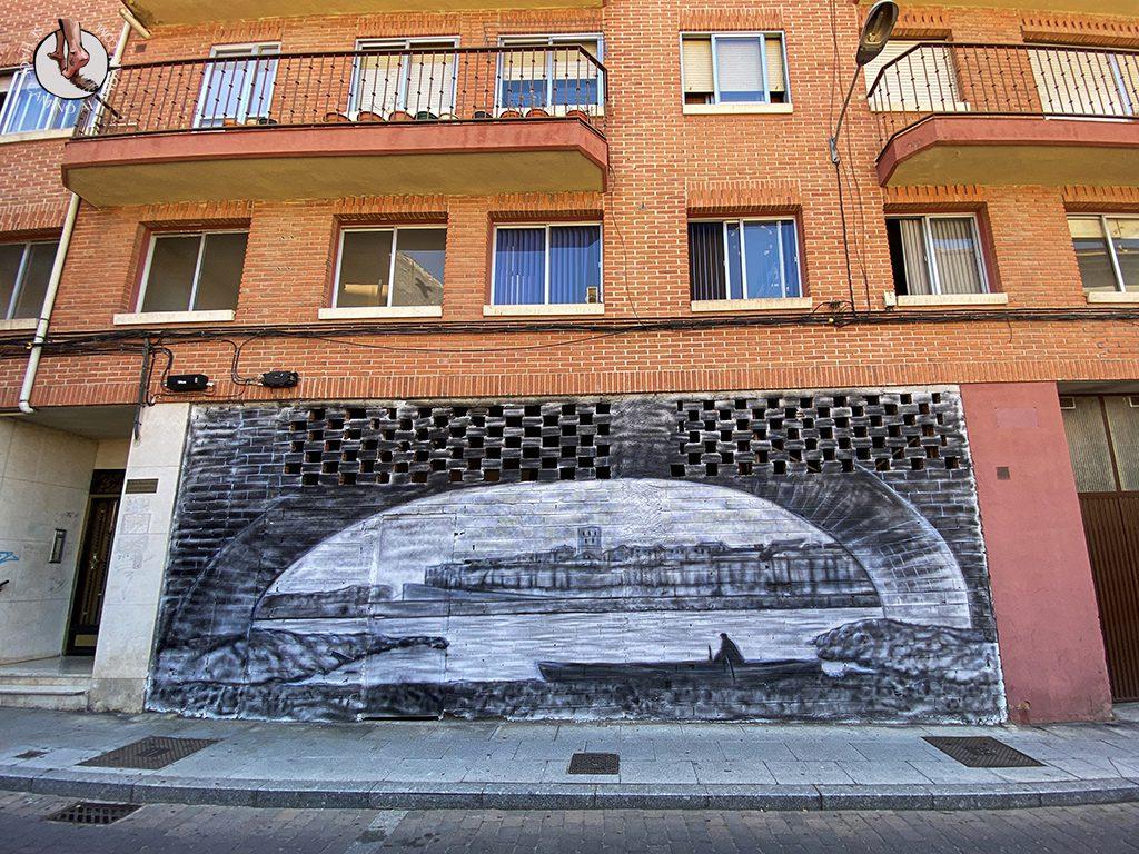 Arte urbano Zamora mural vistas zamora