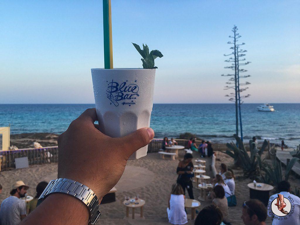 Atardecer Formentera Blue Bar