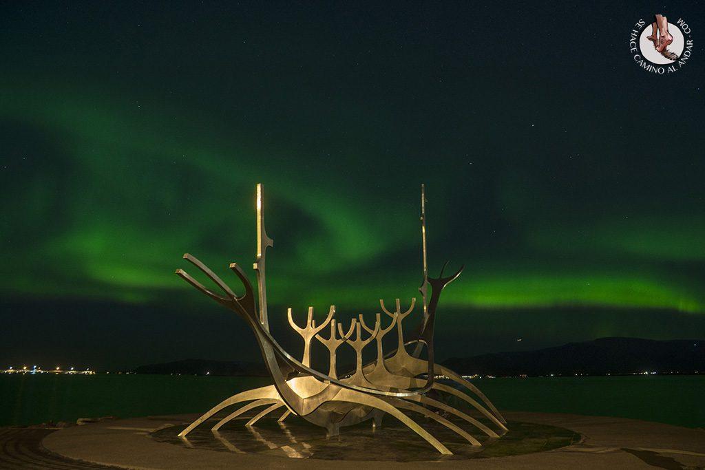 Aurora boreal Reikiavik
