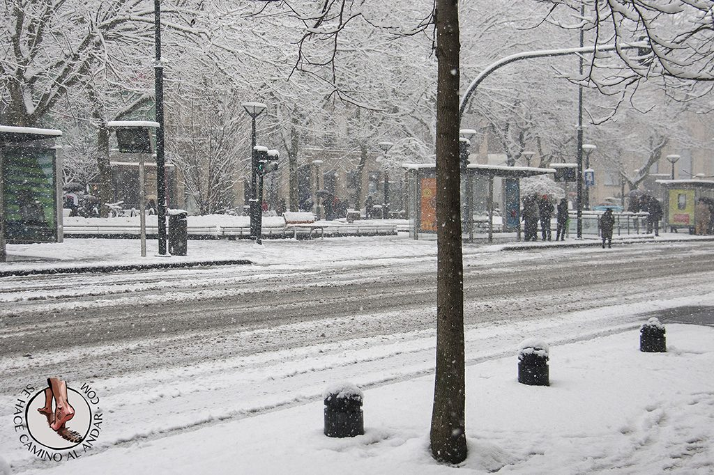 Avenida Boulevard Nieve Donostia