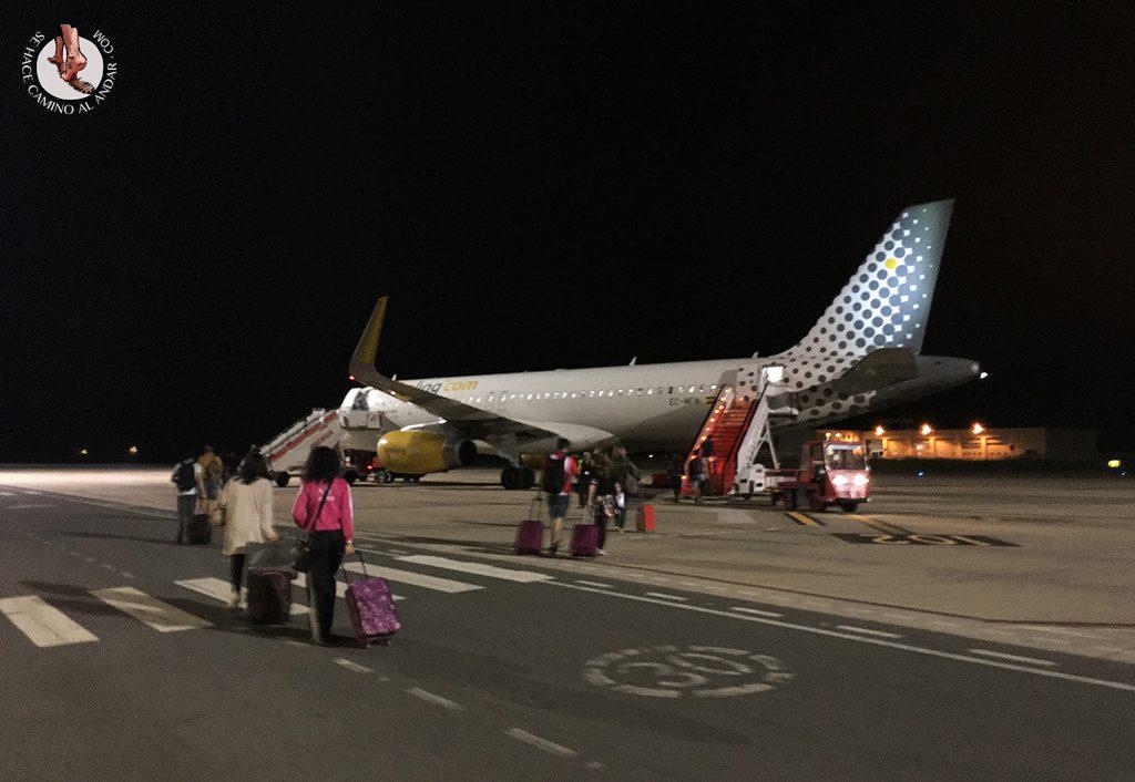 Avion aeropuerto Vitoria