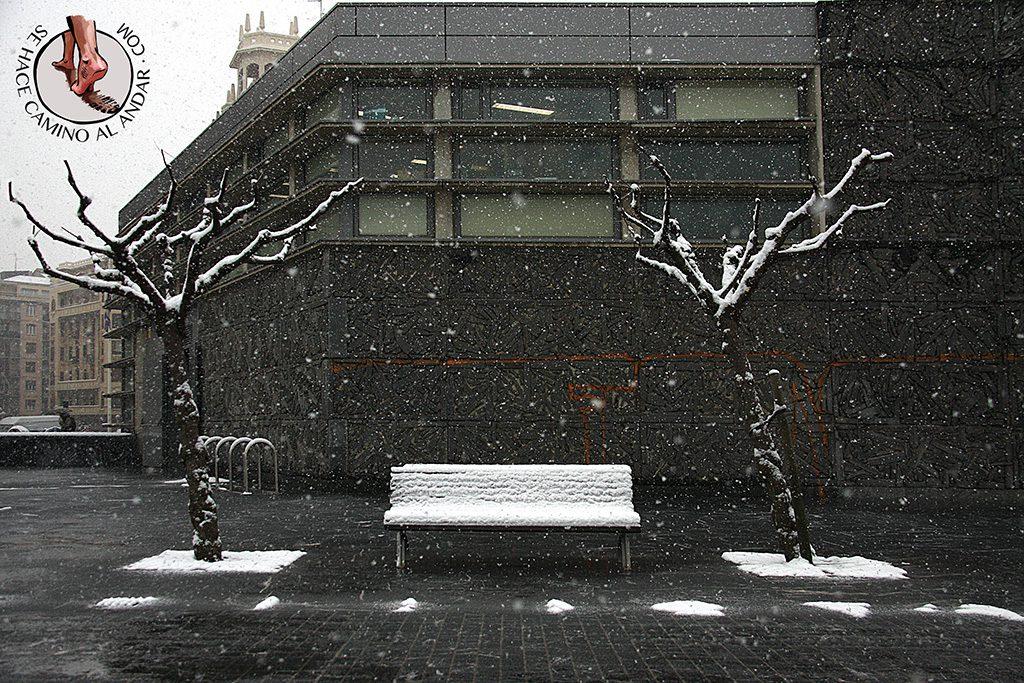 Banco nevado Kursaal