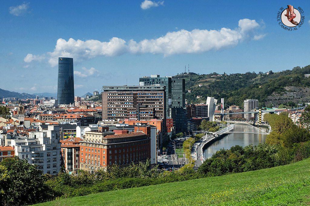 Bilbao desde Parque Etxebarria