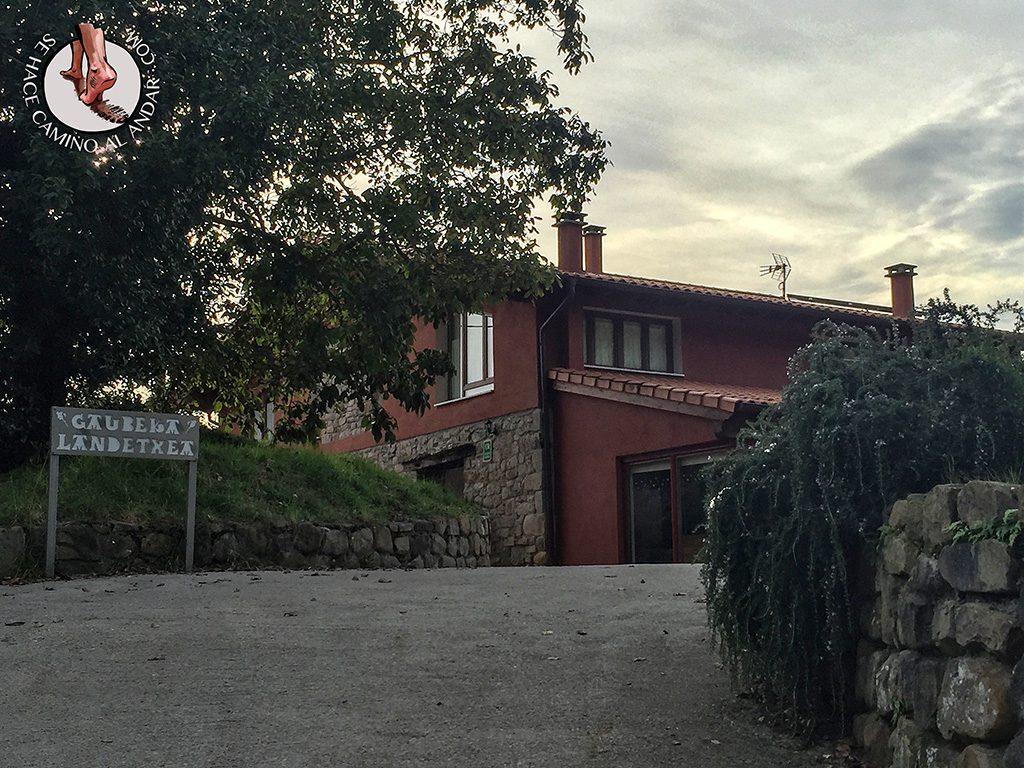 Bizkaia Costa Vasca Casa Rural Gaubeka Bakio