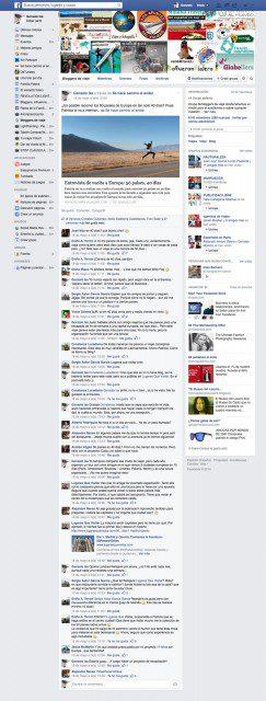 Bloggers de viaje facebook