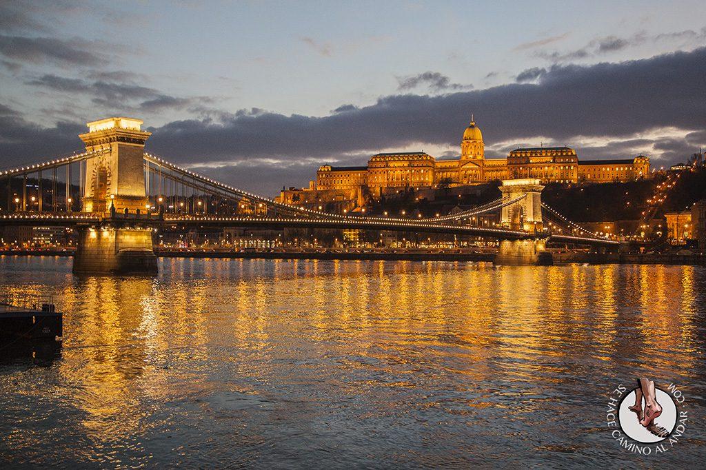 Budapest Puente Cadenas Castillo