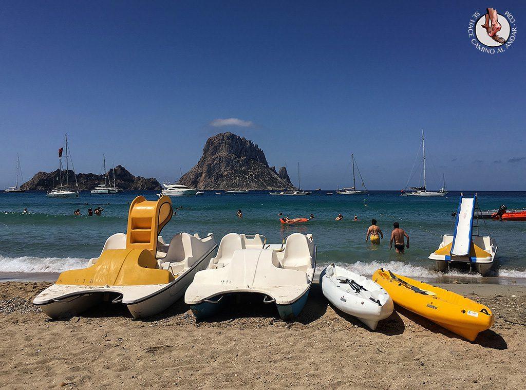 Cala D'Hort vistas Es Vedra Ibiza