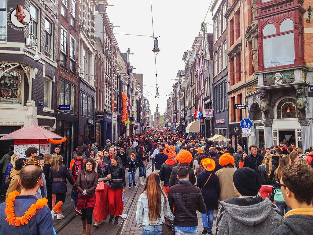 Calle Amsterdam Queen Day