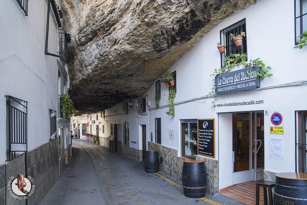Calle Cuevas a la sombra Setenil