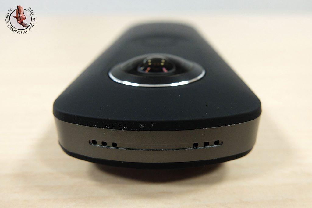 Camara 360 Ricoh Theta S microfono