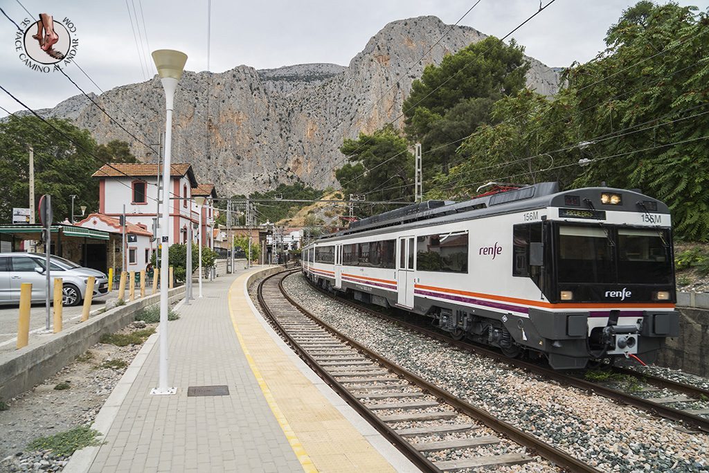 Caminito del Rey estación tren el chorro