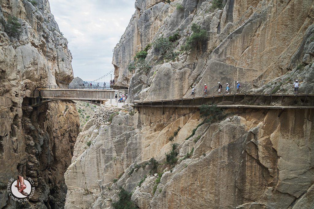 el Caminito del Rey paseo vertigo desfiladero Gaitanes