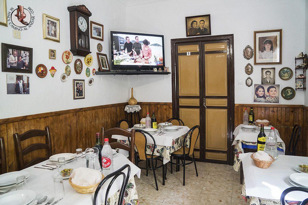Casa Pepa Carratraca salon comedor