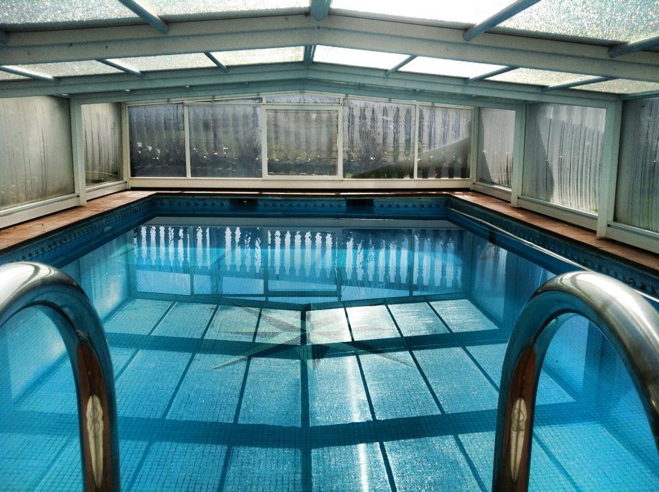 Casa Rural Erbioz piscina interior