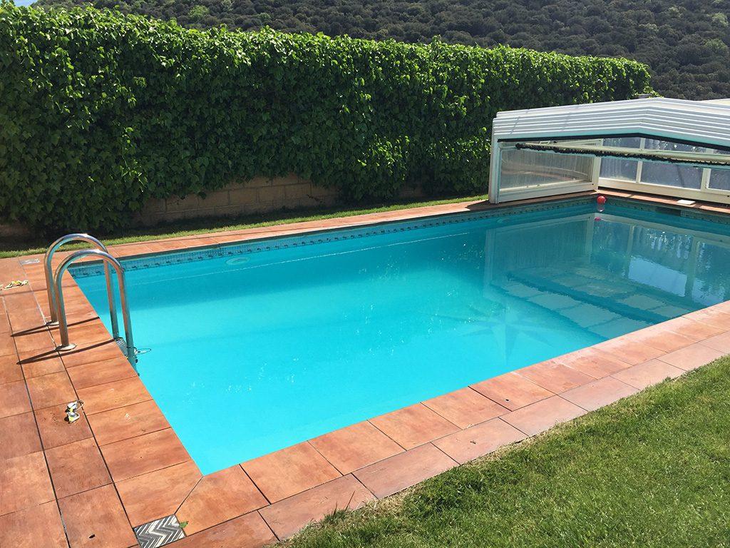 Casa Rural Erbioz piscina