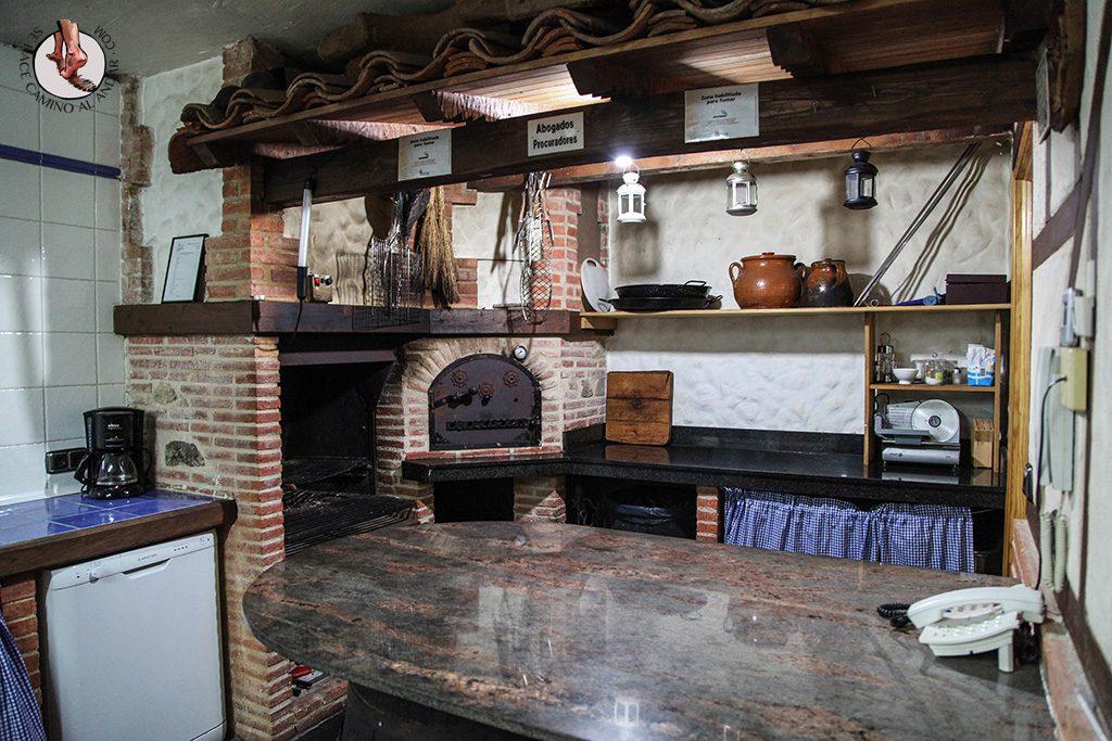 Casa Rural La Chirumba barbacoa