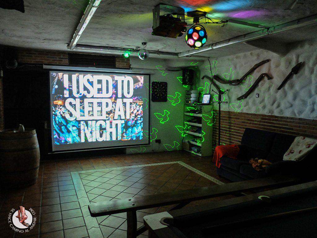 Casa Rural La Chirumba discoteca karaoke