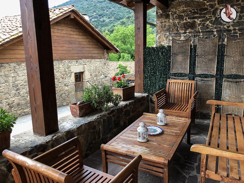 Casa Rural las Chimeneas porche