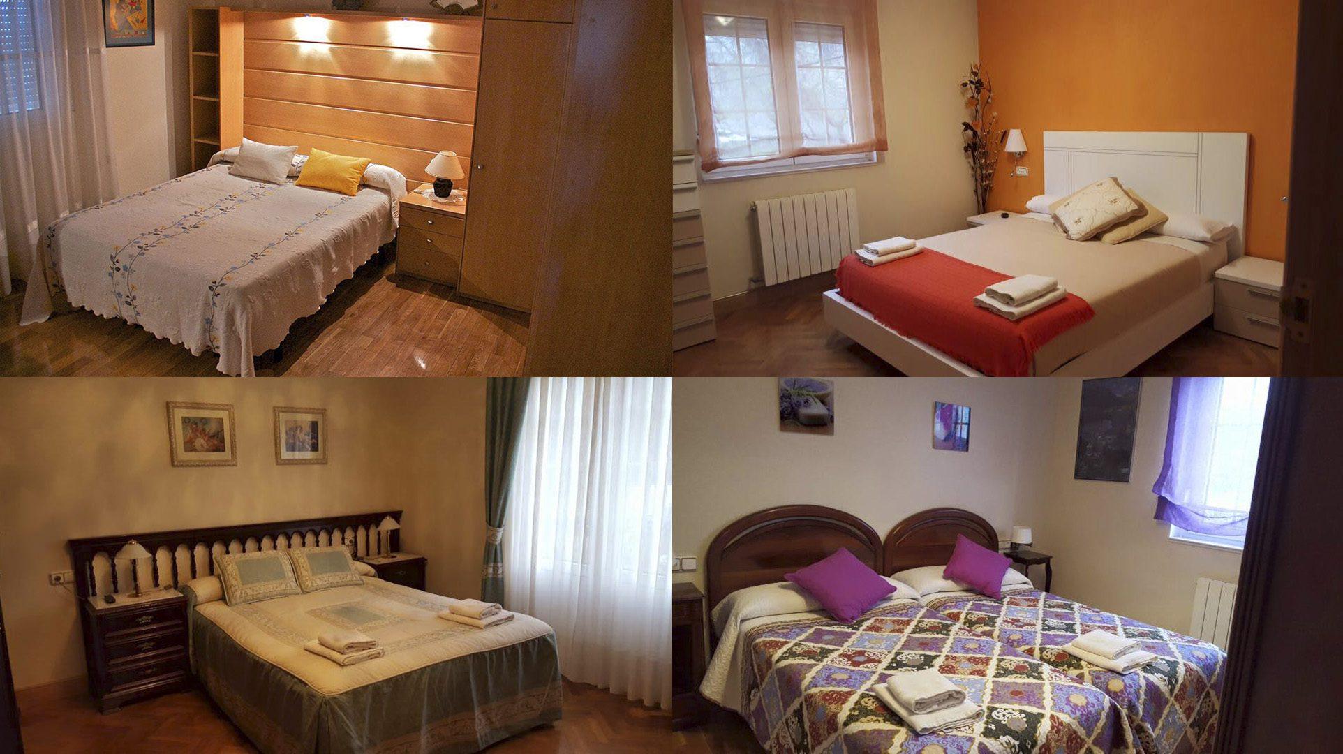 Casa Rural Erbioz habitaciones