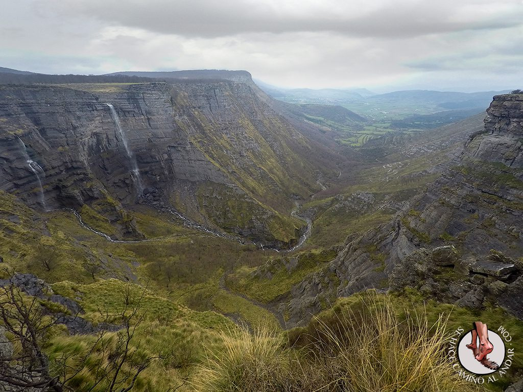 Cascada Salto Nervión paisaje