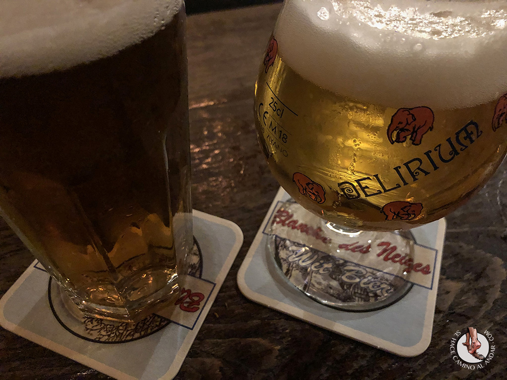 Cervecerias de Bruselas Delirium Tremends cerveza