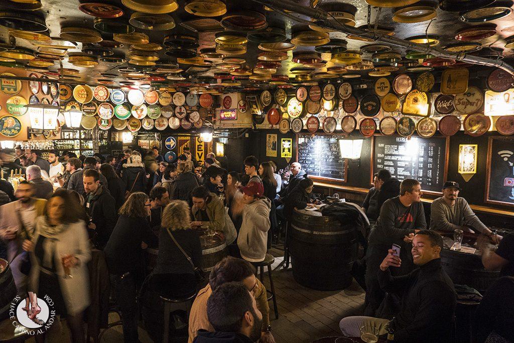 Cervecerias de Bruselas Delirium Tremends
