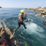 Disfrutar del Coasteering en la Bahía de Gorliz