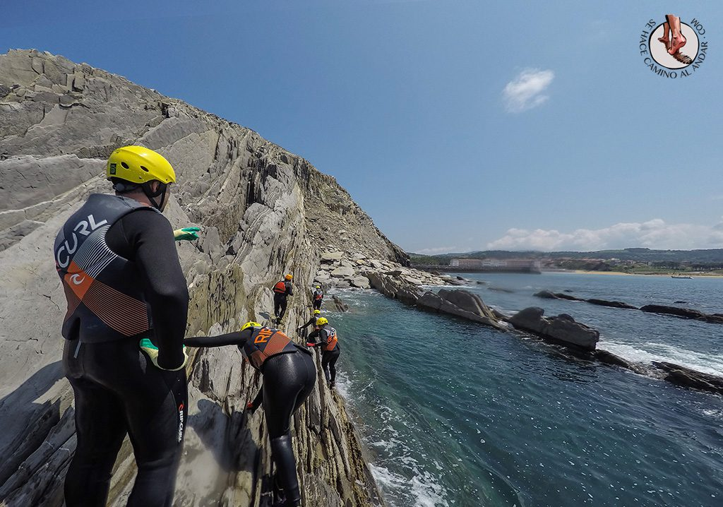 Coasteering flysh Euskadi