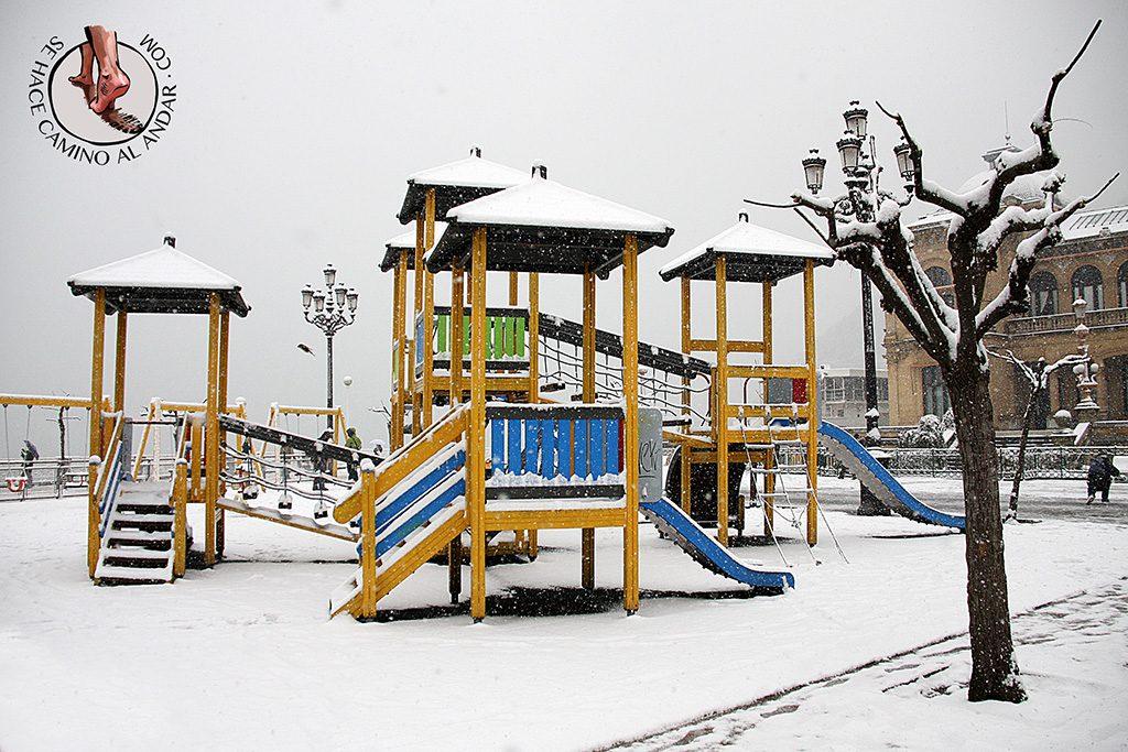 Columpios Alderdi Eder nieve