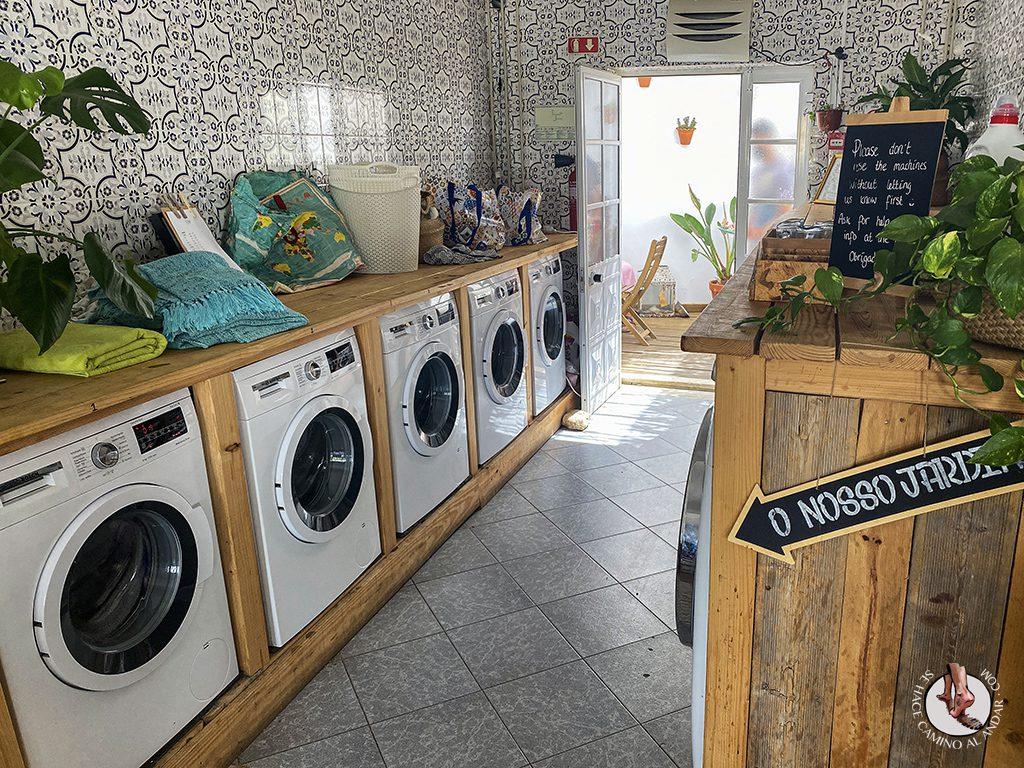 Comer en Sagres Laundry lavadorass