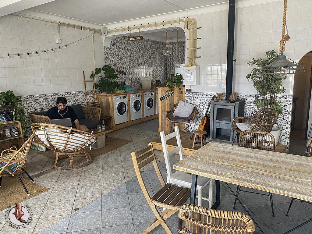 Comer en Sagres Laundry restaurante