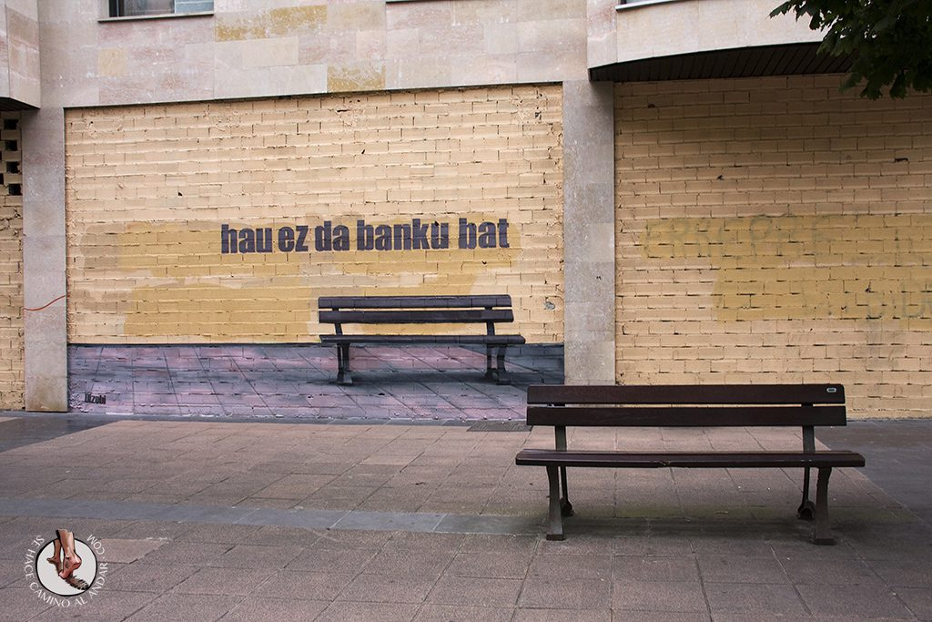 Dizebi graffitero Goierri Beasain banco