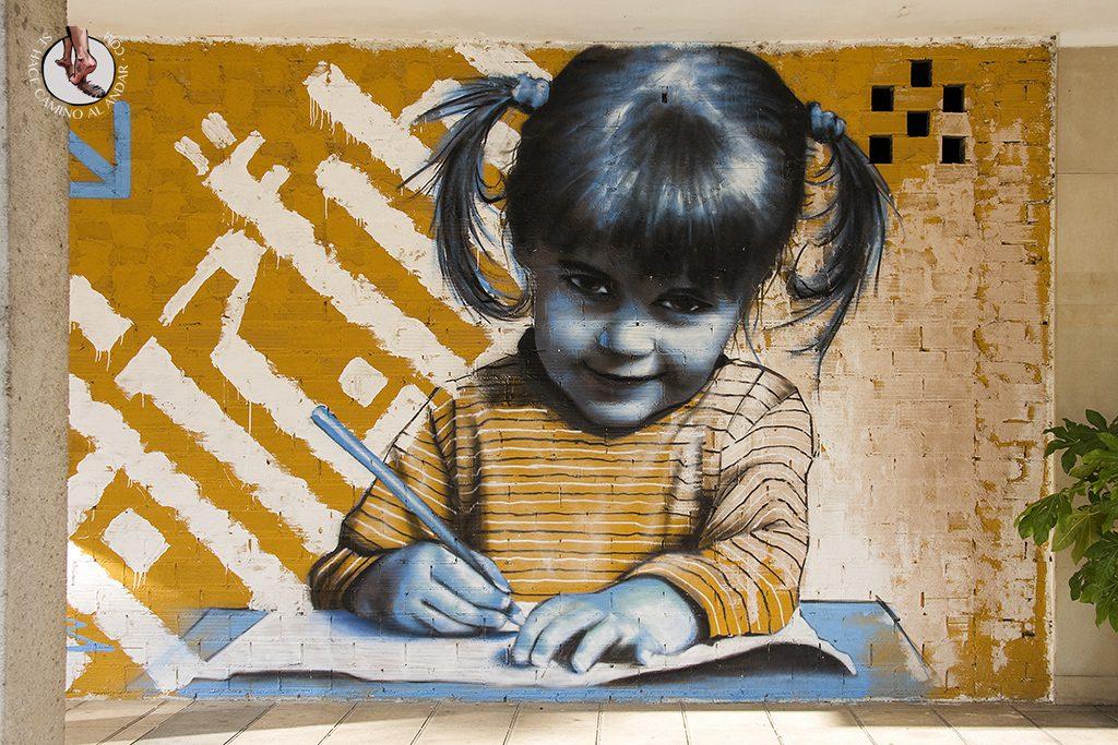 Dizebi graffitero Goierri Itsasondo nina estudiar
