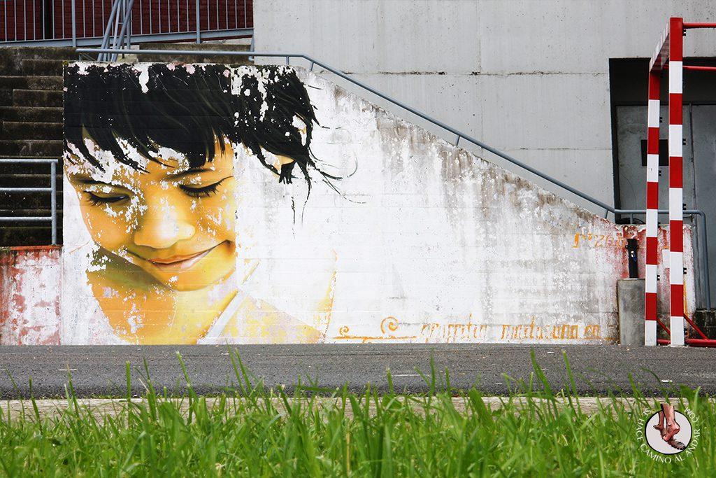 Dizebi graffitero Goierri Ordizia nina