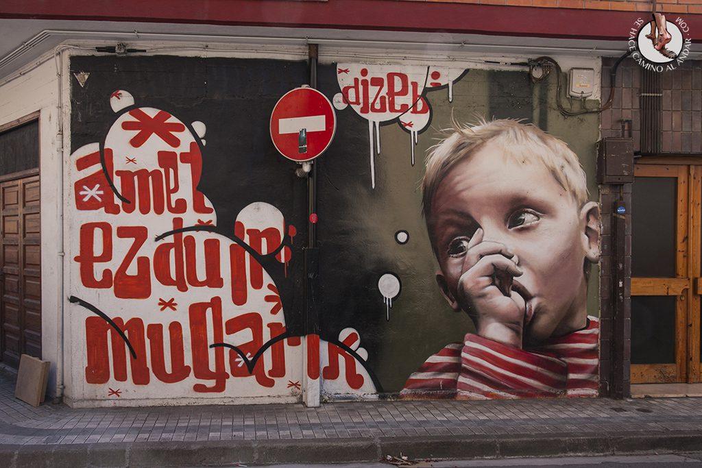 Dizebi graffitero Goierri Ordizia nino