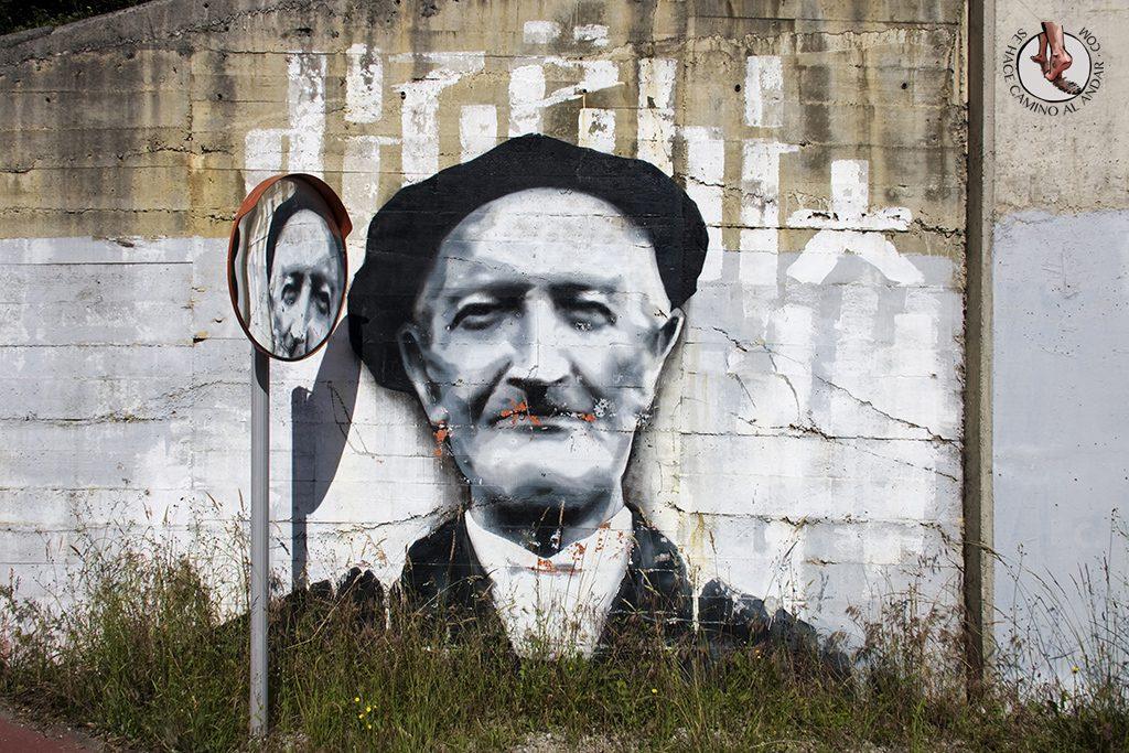Dizebi graffitero Goierri Ormaiztegi aitona