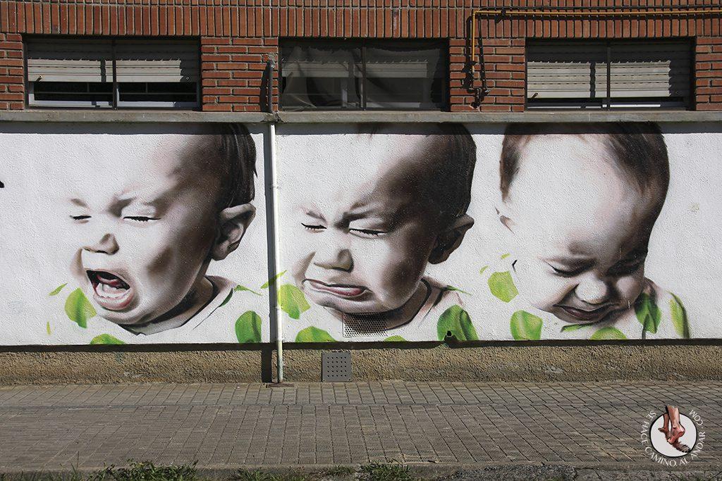 Dizebi graffitero Goierri Ormaiztegi colegio ninos