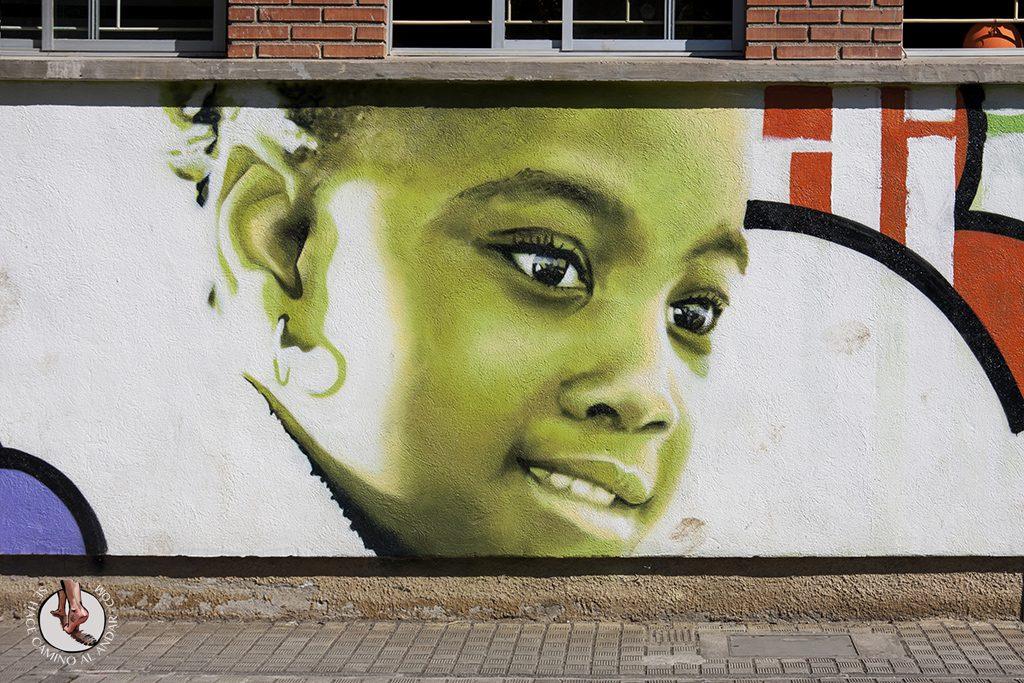Dizebi graffitero Goierri Ormaiztegi nina colegio