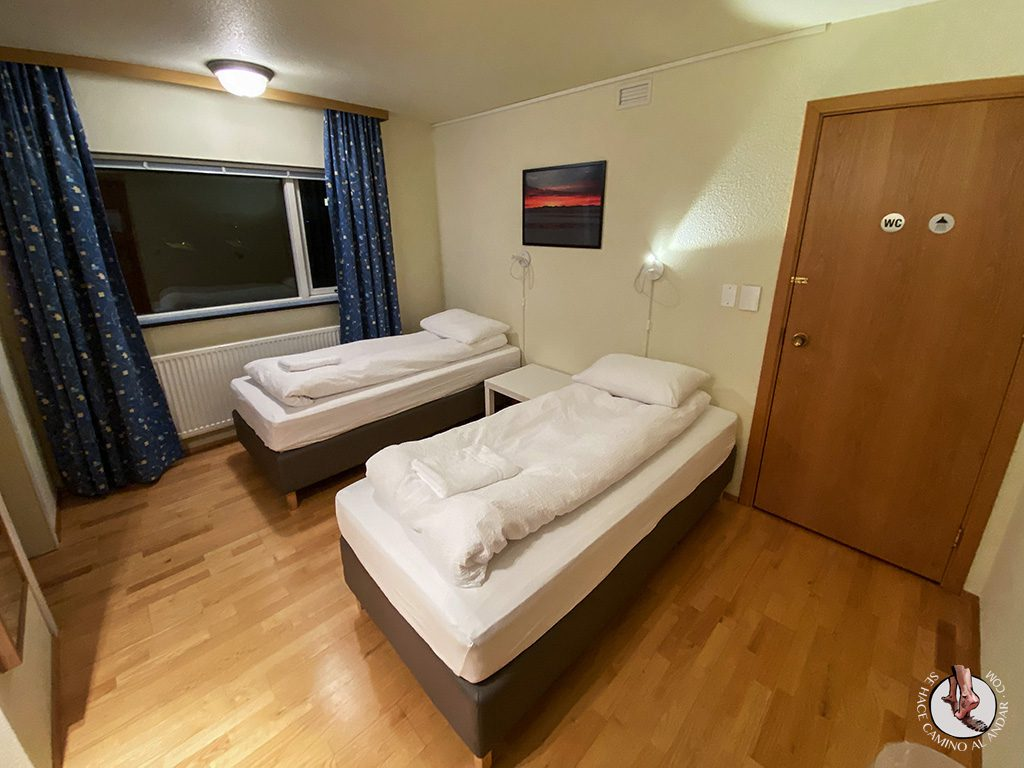 Dormir Keflavik Start Airport habitacion