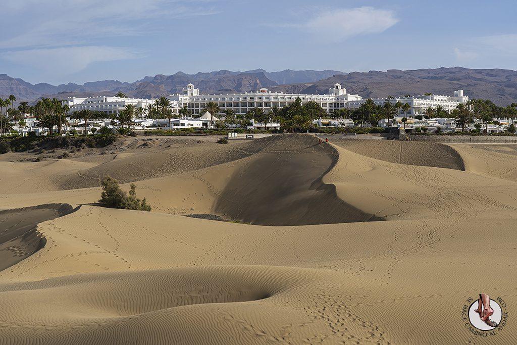 Dormir en Gran Canaria hotel vistas a las dunas Maspalomas