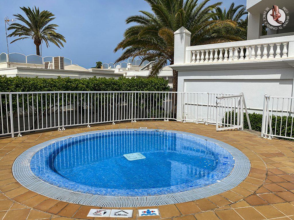Dormir en Gran Canaria piscina infantil